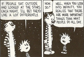 calvin and hobbes stars each night