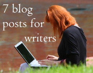 blog posts for writers 7 day challenge